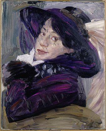 Lovis Corinth, Bildnis Charlotte Berend-Corinth, 1912, Nürnberg, Germanisches Nationalmuseum, Leihgabe der Stadt Nürnberg